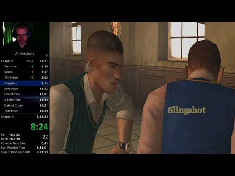 (WR) Bully Scholarship Edition - All Missions - 3:29:23