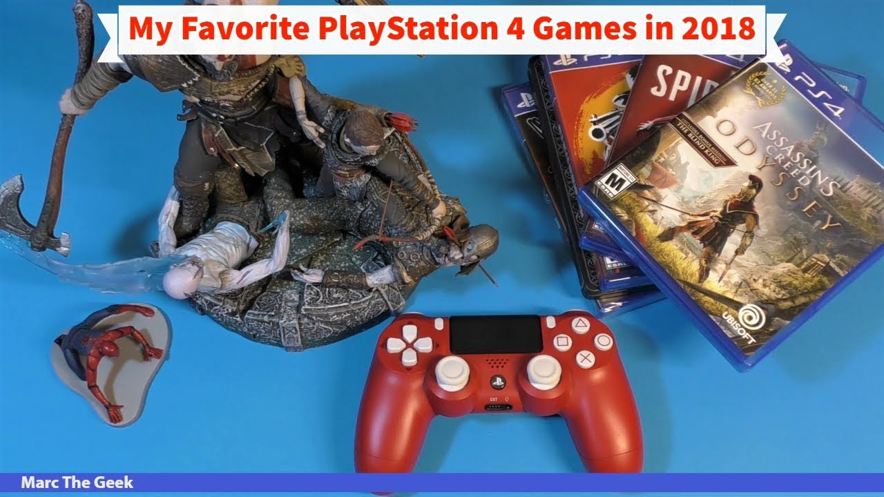 My Favorite Best Playstation 4 Games In 2018 Youtube