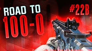 "ROAD TO 100-0 - Part 22B - ""ONE SHOT WONDER!"" (Black Ops 3 GameBattles)"