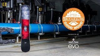 Never Summer Shaper Twin Review: Women's Park Winner – Good Wood Snowboard Test 2018-2019