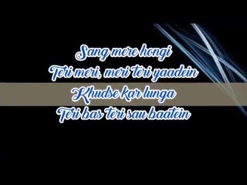 Fursat Lyrics-Arjun Kanungo |Feat Chauhan|