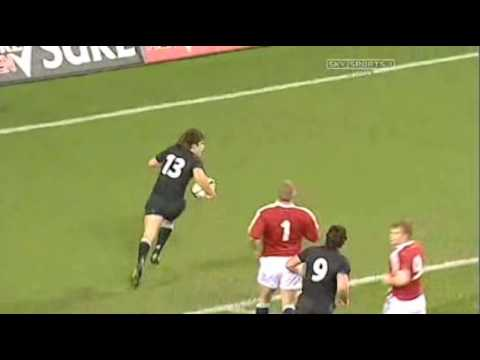All Blacks vs Lions 2005 Highlights