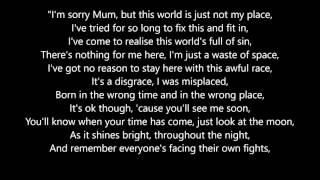 Her Last Words- Courtney Parker  (lyrics)