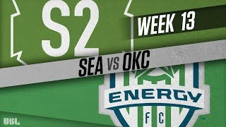 Seattle sounders fc 2 vs okc energy fc: june 10, 2018