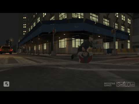 GTA IV Mods: Fat man ragdoll mode fun - Part 2