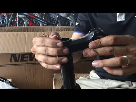 การใส่คอสำหรับจักรยาน คอ Oversize