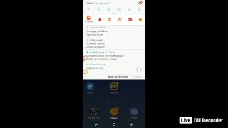 My Live stream with DU Recorder