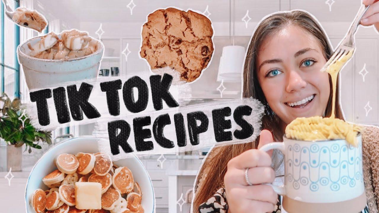 Tiktok Recipes You Need To Try Pt 2 Youtube