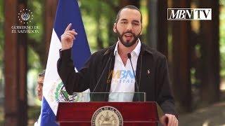 Nayib Bukele Mensaje Desde el Parque Cuscatlán, en San Salvador | HD
