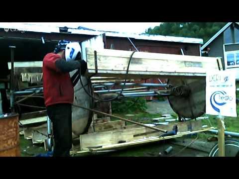 H2O2 Krupa Flow Turbine - Making of