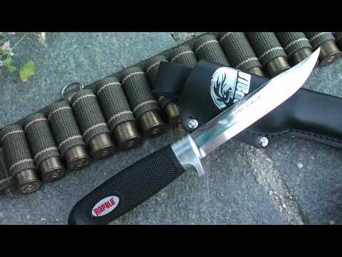 Rapala J Marttiini Finland Classic Hunting Knife (HD) - Review By Nosfctech