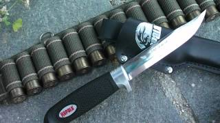 Rapala J Marttiini Finland Classic hunting knife (HD) - review by Nosfctech