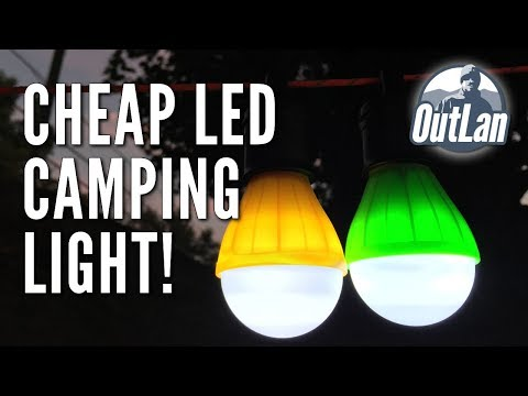 Cheap LED Camping Light!