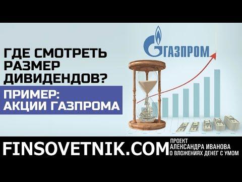 Где смотреть размер дивидендов? На примере акций Газпрома, Северстали и Яндекса