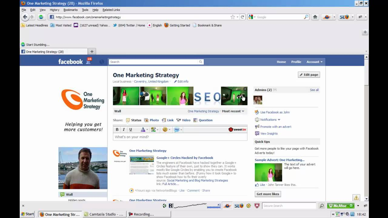 how to delete a facebook business post