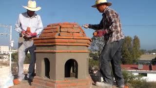 Construcción de bóveda catalana, Linternilla. transmisión en vivo parte 11