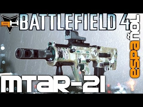 MTAR-21 Reseña Battlefield 4 Guía de Armas ( PizzaHead ) Battlefield 4 Gameplay [ Español ]