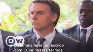 Bolsonaro sobre saída cubana do Mais Médicos: