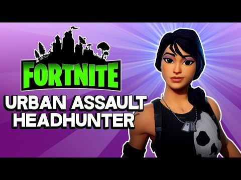 MOST WANTED HERO? Urban Assault Headhunter - Best Soldier Hero Fortnite Save the World PVE 2018