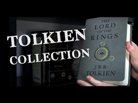 My Tolkien Book Collection