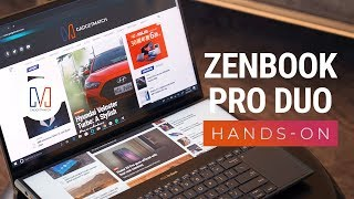 ASUS ZenBook Pro Duo Unboxing and Hands-On: Two displays!