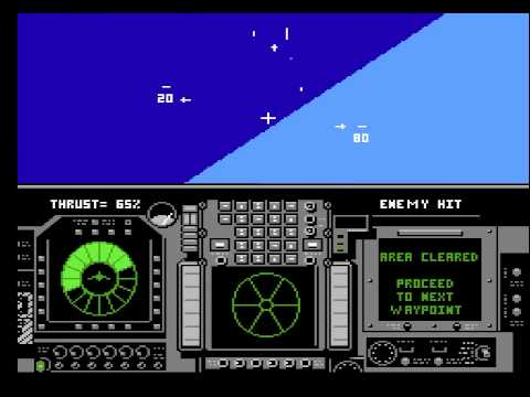 Flight of the Intruder Walkthrough Gameplay ★NES★ HD1080p