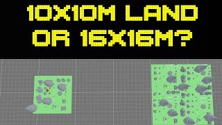 Decentraland Propose 16x16m Land Sizes VS 10x10m | Agora vote next week!