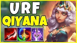 QIYANA IN URF IS ACTUALLY INSANE (RIOT??) - League of Legends URF