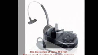 Jabra Pro 9450 Wireless Headset from your Headset Amigos at HEADSET.com!