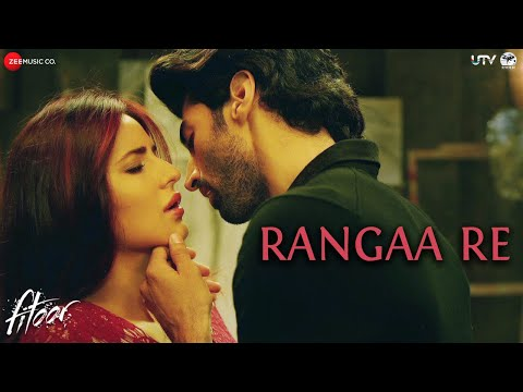 Rangaa Re (Hindi) - Full Video | Fitoor | Aditya Roy Kapur & Katrina Kaif | Sunidhi C | Amit Trivedi