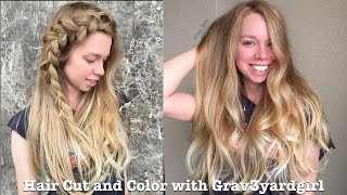 Hair Cut and Color with Grav3yardgirl