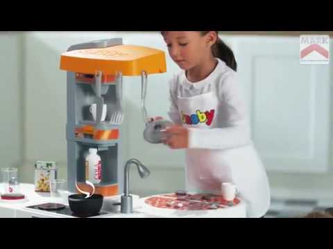 smoby studio bubble xl kitchen - youtube - Smoby Bon Appetit Küche
