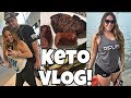 Keto Cut Day 13 | Full Day Of Eating | Quick Upper Body Workout | FUNNY Vlog!
