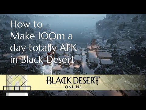 How to Make 70m Silver a Day Totally AFK in BDO