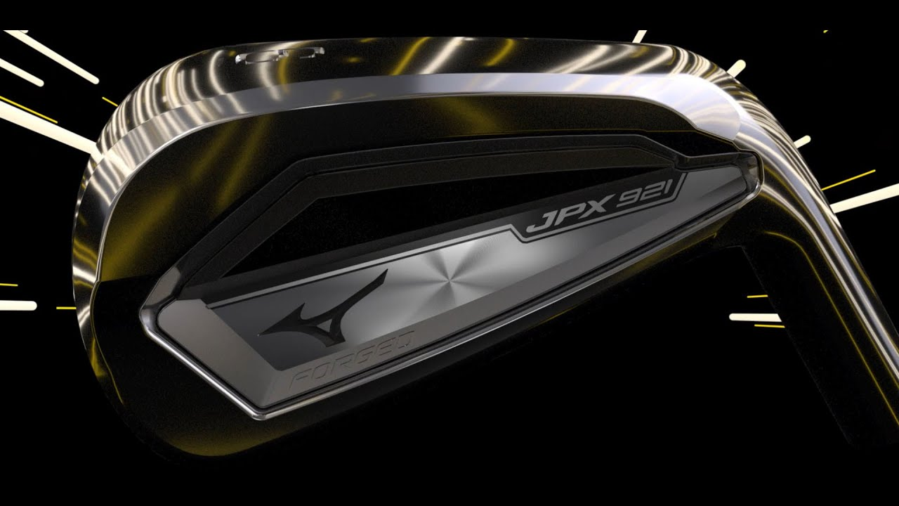 Mizuno JPX921 Forged iron.  FASTER. FORGED. FIRST.
