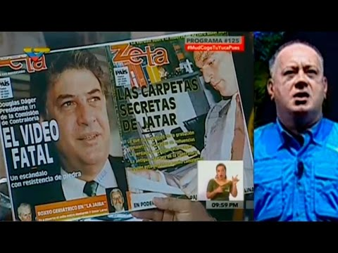 Diosdado Cabello Con El Mazo Dando a voceros MUD ardidos de rabia con cumbre MNOAL. Venezuela