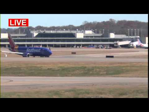 Nashville International Airport, LIVE Airplane Spotting, 11-20-15