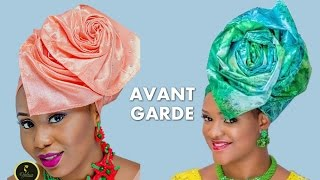 How to tie Avant Garde Iconic Gele - Full Tutorial