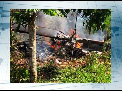 Three dead in chopper crash in Tanay, Rizal