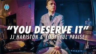 """You Deserve It"" Drum Cover // JJ Hariston & Youthful Praise // Daniel Bernard"