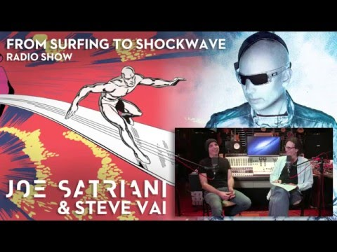Joe Satriani & Steve Vai - From Surfing To Shockwave (Part 1)