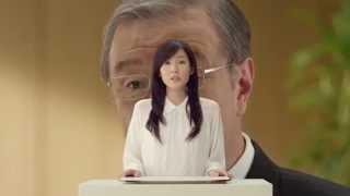 出演者:蓮佛美沙子 篇 名:「出口会長のいいハナシ」篇 商品名:--- 企...