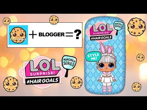 2D Paper Hair Goals #HairGoals Makeover Series Custom LOL Surprise Dolls #23