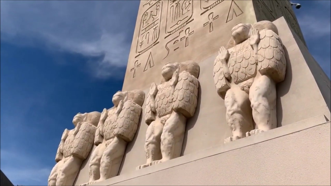 Luxor (LV)  Chat ~ Egyptian Hieroglyphs ?? Questions