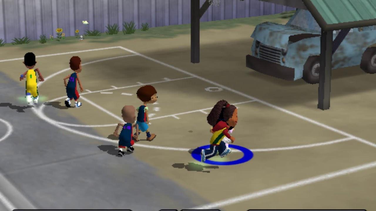 Backyard Basketball PS2 Gameplay (Single Game) - YouTube