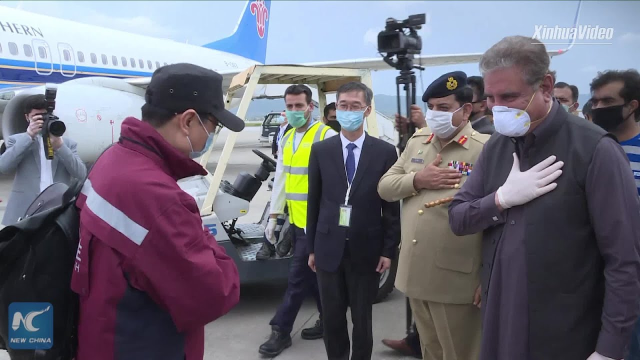 Pandemic Watch: Chinese medical team arrives in Pakistan to help fight COVID-19