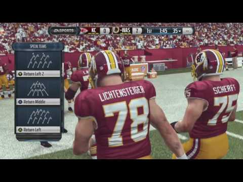 Madden - Part 1: His Last Name is Peters