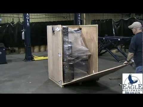 Eagle Equipment GLO-960A Tire Changer Installation Video