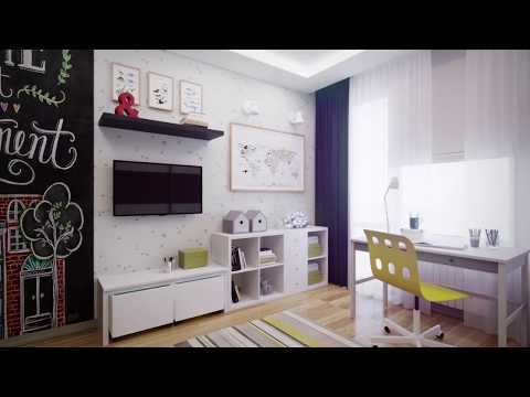 Из детской в школьную | Дизайн | Ремонт квартиры по-новому | Будем менять #01 [0+]