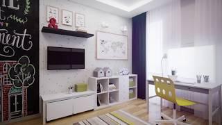 из детской в школьную  Дизайн  Ремонт квартиры по-новому  Будем менять #01 0